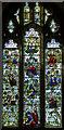 TQ5202 : Jesse Tree window, St Andrew's church, Alfriston by Julian P Guffogg