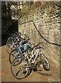 ST5873 : Bikes in Bristol by Derek Harper