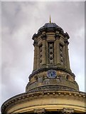 SE1338 : Saltaire Congregational Church Tower by David Dixon