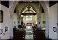 TQ5202 : Interior, St Andrew's church, Alfriston by Julian P Guffogg