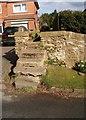 SE9985 : Stone stile, Moor Lane by Christopher Hall