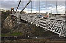 ST5673 : Leigh Woods : Clifton Suspension Bridge by Lewis Clarke