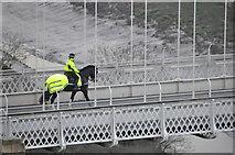 ST5673 : Bristol : Clifton Suspension Bridge by Lewis Clarke