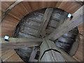 TQ2350 : Inside the Reigate Heath windmill church (2) by Stephen Craven