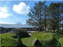 SM7525 : Oriel y Parc Gallery and Visitor Centre, St Davids by Robin Drayton
