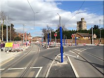 SK5236 : Chilwell Road / Middle Street junction by David Lally