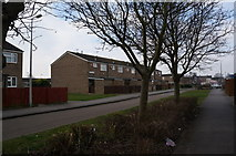 TA0930 : Houses on Lichfield Close, Hull by Ian S