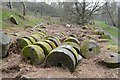 SK2479 : Millstones near Surprise View, Sheffield by Andrew Tryon