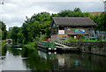 SJ8900 : Canal activity centre north of Newbridge, Wolverhampton by Roger  Kidd