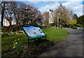 SK5804 : Information board at Castle Gardens by Mat Fascione