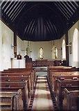 SO6658 : St Mary, Edvin Loach - East end by John Salmon