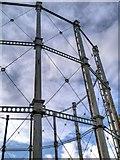 SJ8198 : Liverpool Street Gasometer by David Dixon