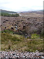 NH1200 : The (felled) forest of Glen Garry by Richard Law