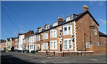 SP4641 : Three- and two-storey houses, Middleton Road by Christine Johnstone