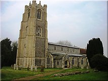 TG0400 : St Andrew's church, Deopham by David Purchase