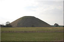 SU1068 : Silbury Hill by Trevor Harris