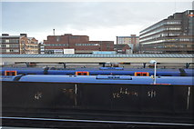 SU6400 : Trains at Portsmouth & Southsea Station by N Chadwick