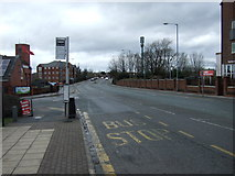 SD6311 : Bus stop on Chorley New Road (A673), Horwich by JThomas