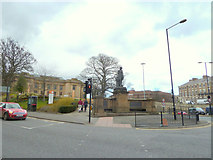 NZ2465 : Junction of Claremont Road and Barras Bridge, Newcastle by Gary Rogers