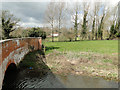 TM3051 : Across the floodplain with Ufford church in the distance by Adrian S Pye
