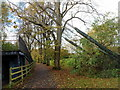 ST6071 : Suspension footbridge support cables, Bristol by Jaggery