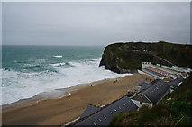 SW8162 : Tolcarne Beach, Newquay by Ian S