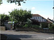 SE1421 : Solar panels, Somerset Avenue by Stephen Craven