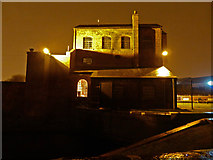 SO9988 : Titford engine houses by Chris Allen
