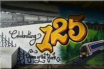 TQ5940 : Mural, Grosvenor Park by N Chadwick