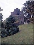 SX3384 : Launceston Castle by Chris Andrews