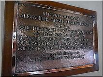 NY2623 : Keswick St John: memorial (1) by Basher Eyre