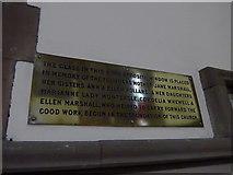 NY2623 : Keswick St John: memorial (8) by Basher Eyre