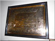 NY2623 : Keswick St John: memorial (10) by Basher Eyre