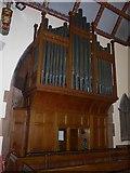 NY2623 : Keswick St John: organ by Basher Eyre