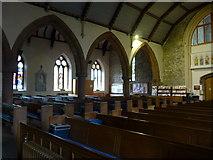 NY2623 : Inside Keswick St John (4) by Basher Eyre