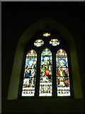 NY2623 : Keswick St John: stained glass window  (6) by Basher Eyre