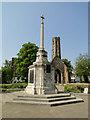 TF6219 : The War Memorial in Tower Gardens, Kings Lynn by Adrian S Pye