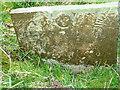 SK6630 : Kinoulton Old Churchyard - Belvoir Angel headstone by Alan Murray-Rust