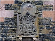 D3115 : Crest of Arms, The Barbican by Kenneth  Allen
