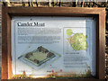 TQ2898 : Information  Board, Camlet Moat, Trent Park, Cockfosters, Hertfordshire by Christine Matthews