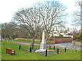 NZ4061 : Whitburn war memorial by Malc McDonald