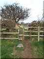 NZ3962 : Footpath and stile near Whitburn by Malc McDonald