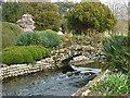 SU8512 : Water garden, West Dean by Alan Hunt