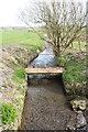 NX6054 : Footbridge over a Burn by Billy McCrorie