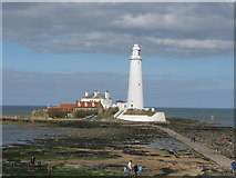 NZ3575 : St. Mary's Lighthouse by G Laird