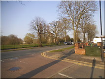 TQ1891 : Whitchurch Lane at the junction of Buckingham Road by David Howard