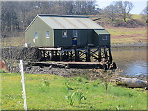 NM9634 : Small pier in Loch Etive at Achnacloich by John Ferguson