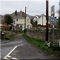 SS9669 : Ford sign on the corner of Castle Street, Llantwit Major by Jaggery