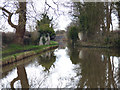 SJ6870 : Trent and Mersey Canal:  Site of former bridge by Dr Neil Clifton