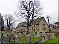 SP9957 : The Tithe Barn. Felmersham by PAUL FARMER